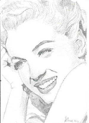 Marilyn Monroe par Lindasart